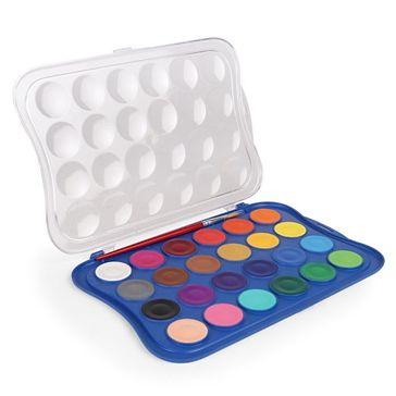 Doms Water Colour Tablets 24 Shades - Multicolour Online in India, Buy at Best Price from Firstcry.com - 2091119