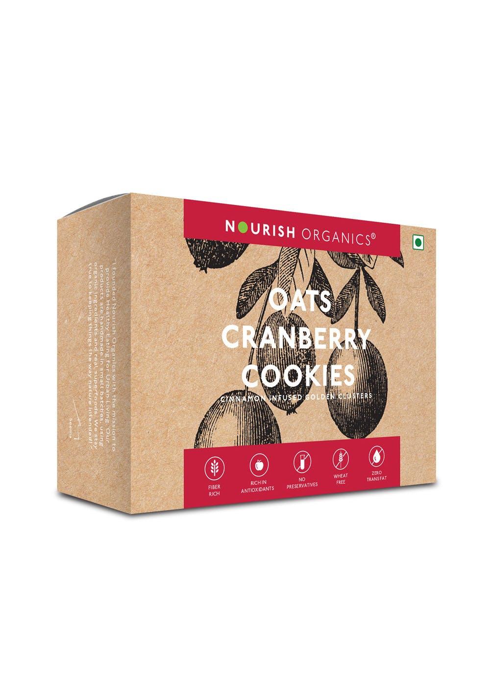 Oats Cranberry Cookies - 130g