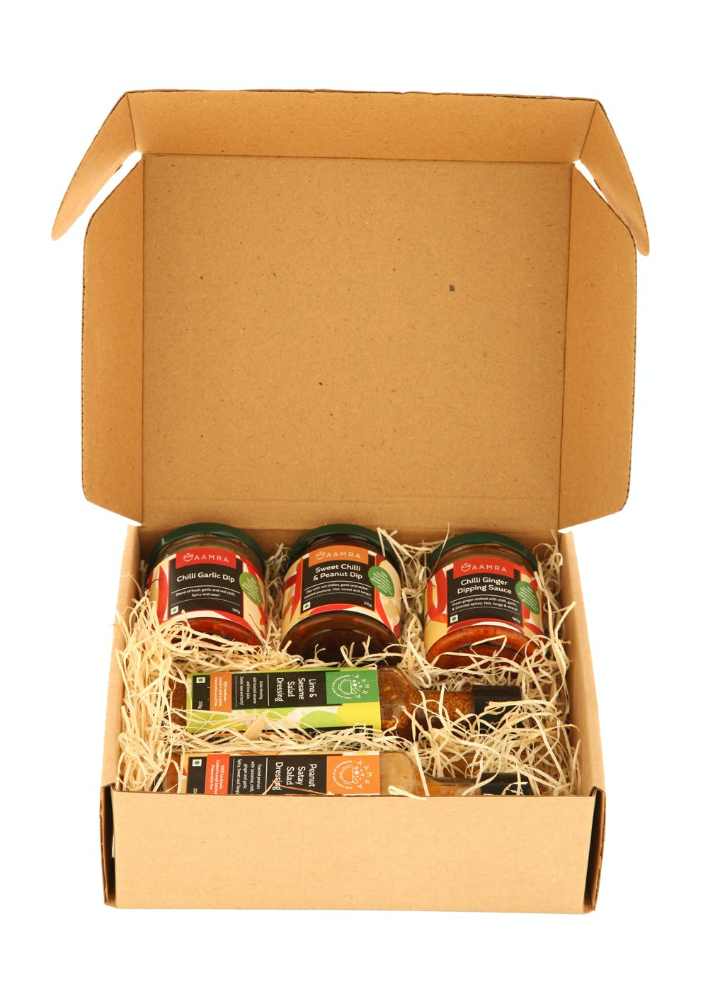 Asian Gift Pack- 5 Jars of Salad Dressings and Dips