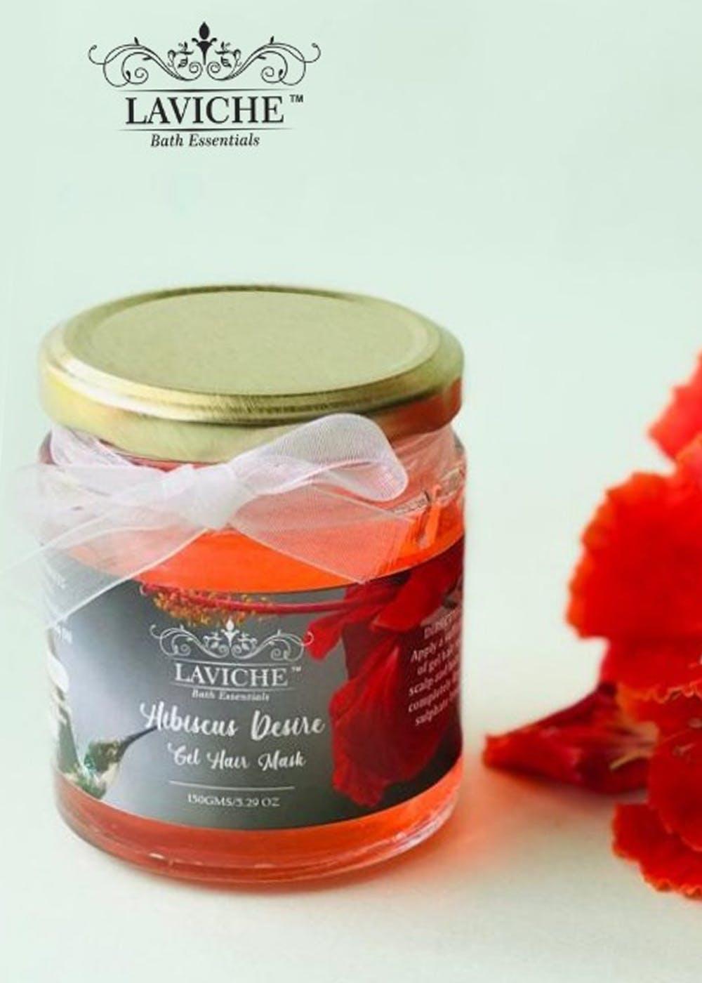 Hibiscus Desire Gel Hair Mask