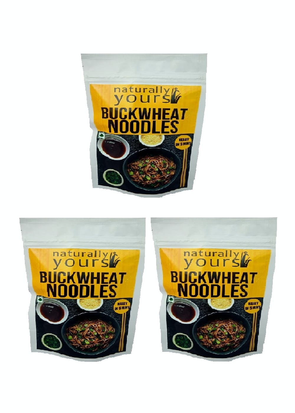 Buckwheat Noodles - 180g (Pack of 3)