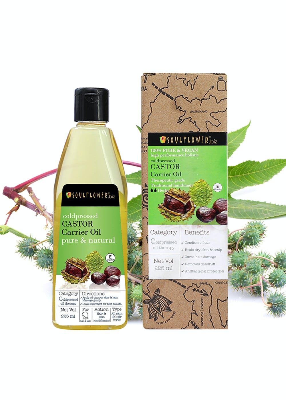 Coldpressed Castor Oil For Hair & Skin (225ml)
